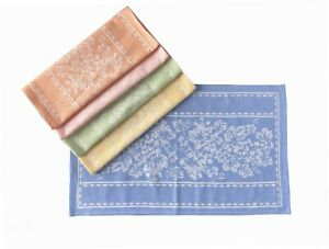 Jacquard Kitchen Dish Towel Set of 4 colors