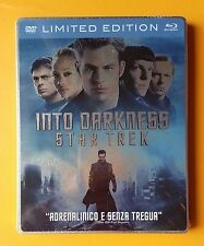 INTO THE DARKNESS STAR TREK LIMITED EDITION STEELBOOK BLURAY