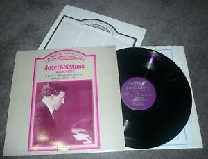 414 123-1 - JOSEF LHEVINNE - THE AMPICO RECORDINGS - VOLUME THREE