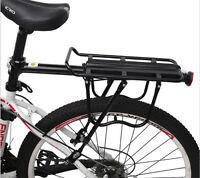 Bike Bicycle Seat Post Alloy Rear Luggage Quick Release Rack Pannier Bag Carrier