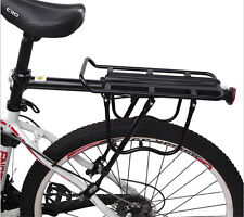 HEAVY DUTY Bike Bicycle Cycling Rear Rack Seat Panniers Bag Luggage Carrier 50KG