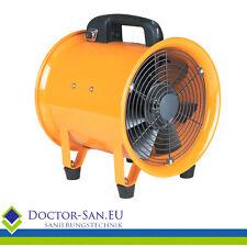 Doctor-San - Metall Turbogebläse 4920 m3/h Bauventilator  Ø35cm Baugebläse