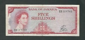 Jamaica - Five (5) Shillings