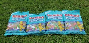 Haribo Passport Mix Limited Edition Gummies 4 Bag Lot  Anniversary