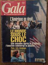 Gala 20 Sept 2001 L'Amerique en deuil - Loulou de la Falaise Flament Garou Mode