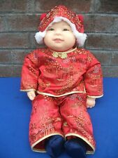Reborn baby boy Asian Ethnic,Part.vinyl,Limited Ed.3000,Ping LAU,M.Osmond 2002