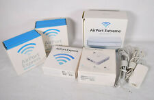 Lot Apple Wifi 802.11nAirport Extreme Base Station A1301 + 4 irport Express A108