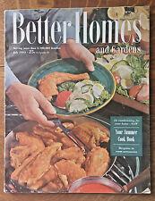 Better Homes and Gardens 1953 Royal McClure Coca Cola Ad Summer Cookbook Recipes