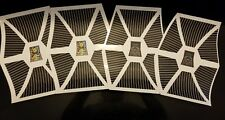 Vintage Star Wars Tie-Fighter Replacement Stickers -Peel & Stick No Need To Cut