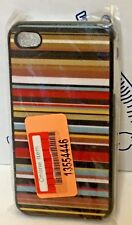 New Missoni For Target Horizontal Case iPhone 4 4s Striped Brown Multicolor NWT