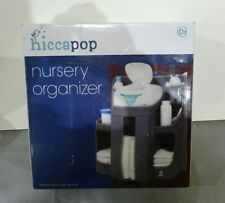 hiccapop Nursery Organizer and Baby Diaper Caddy Hanging Organization, Grey
