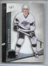 12-13 UD THE CUP BLACK PARALLEL #43 LUC ROBITAILLE 1/1 KINGS