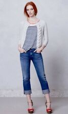 Citizens of Humanity Mid Rise DANI Cropped Straight Stretch Jeans! 27 x 24 EUC!