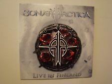 Sonata Arctica – Live In Finland - 2 LP WHITE VINYL