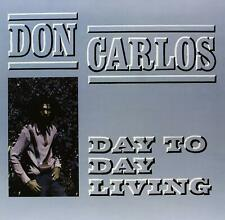 Don Carlos - Day To Day Living LP - Vinyl Album - Roots Radics Scientist Record