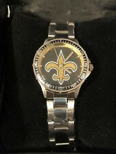 NEW ORLEANS SAINTS Game Time NFL Ladies WATCH Coach Series NEW in RECLINER BOX