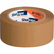 """Shurtape FP115 Self-Adhesive Kraft Packing Shipping Registered Mail Tape 3""""x60yd"""