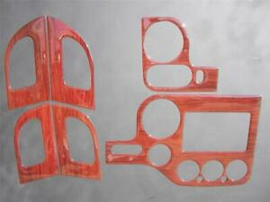 2003-2006 Ford Expedition XLT 4WD Dash Kit Trim Overlay Rose Wood Look 6 Pieces