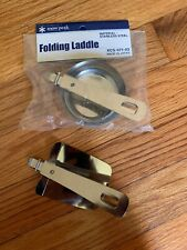 New Snow Peak Folding Cooking Laddle and Spatula.  Stainless Steel