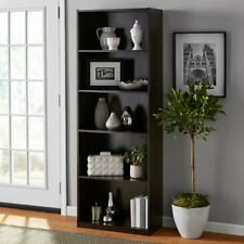 Tall Wooden Decorative Storage Shelf Kitchen Pantry Cupboard furniture Brown