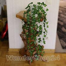 Efeubusch grün 85cm künstliches Efeu Efeuranke Kunstpflanzen Efeugirlande NEU
