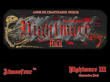 Nightmare 3 III Video Board Game Video Tape VCR VHS DVD Anne de Chantraine