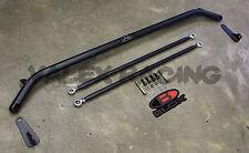 "Blox Racing 47"" Seat Belt Harness Bar Honda Acura Universal Black"