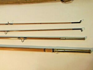 Montague Bamboo Fly Rod MT. TOM with canvas case