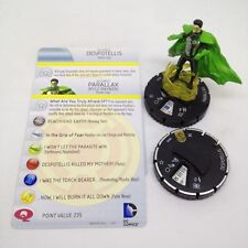 Heroclix War of Light set Parallax and Despotellis Super Rare figure w/card!