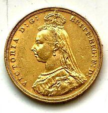 1887 jubilee    full sovereign    #02378