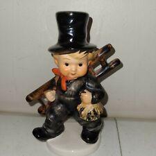 New ListingVintage Goebel Hummel Chimney Sweep Boy With Ladder Figurine Kf40 West Germany