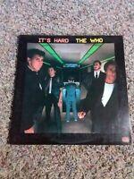 """1982 THE WHO """"IT'S HARD"""" VINTAGE VINYL RECORD ALBUM"""