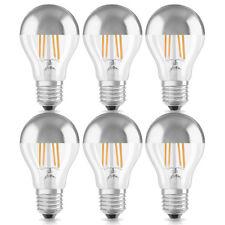 6x OSRAM Lámpara LED Forma Bombilla reflectora SUPERIOR 7w ~ 60w E27 PLATA