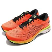 Asics Gel-Kayano 25 Orange Black White Men Running Shoes Sneakers 1011A019-800