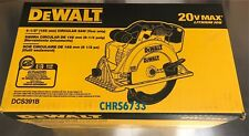 Brand New Dewalt DCS391B 20V Cordless Battery Circular Saw 20 volt DCS391 6 1/2""