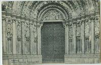 Alte Ansichtskarte Postkarte Freiberg Dom Goldene Pforte 1918 s/w
