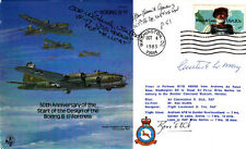 B32c 50th Anniversary B 17  Signed 3 USA Pilots Le May, F Gailer,W E Hardy