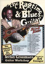ARI Eisinger Ragtime & Blues Guitar cieco Blake imparare a giocare scheda MUSICA DVD