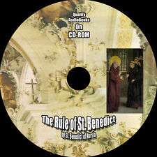 The Rule of St. Benedict, by St. Benedict of Nursia, MP3 Audiobook 1 CD
