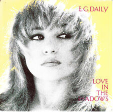 "7"" 45 TOURS FRANCE E.G. DAILY ""Love In The Shadows / Little Toy"" 1986"