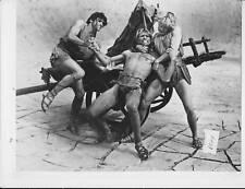 > Gordon Mitchell barechested fights men VINTAGE Photo