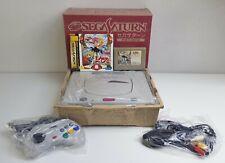[ Ex ] Sega Saturn HST-0014 White Console+Extras Ntsc J Japan Ss Genesis