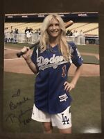 Brande Roderick Autograph 8x10 Signed Photo w/ COA Playboy Los Angeles Dodgers