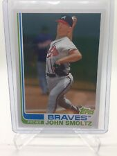 2017 Topps Archives John Smoltz Blackless Variation Non Auto SSP Braves