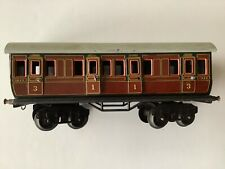Bing  LMS : voiture voyageurs 1 ère / 3ème  classe échelle O N° 1924