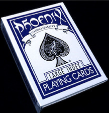 Phoenix Deck Large Index (Blue) Playing Cards by Card-Shark from Murphy's Magic