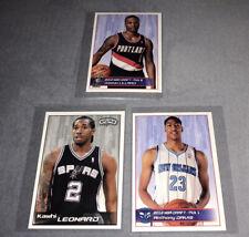Kawhi Leonard,Damian Lillard and Anthony Davis NBA 2012-13 Stickers - PANINI LOT