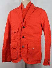 Ralph Lauren RLX Jacket and Vest Mens Medium Orange Long Sleeves MSRP $495