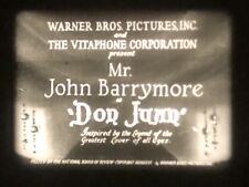 16mm Film Feature: Don Juan (1926) Silent with Musical Score