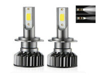 Kit ampoule LED H7 COB 8000K 12/24 Volt phare anti erreur OBD Canbus integré